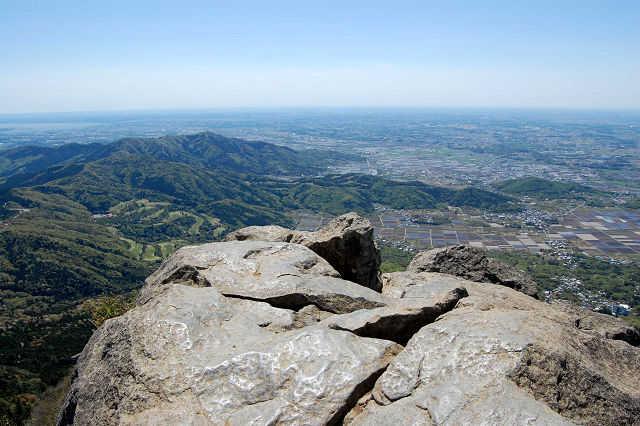 筑波山からの眺望 つくば新聞